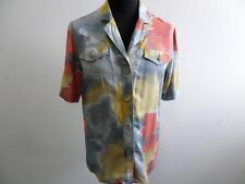"Genius 90's Vintage Women Blouse Top Shirt cotton Multi 40 40"" Grade A SKU AR178"