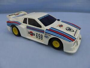 Vintage Plastic 1:24 LANCIA BETA MONTECARLO GR 5 TURBO PININFARINA TOY RALLY CAR