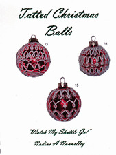 Tatted Christmas Balls by Nadine A Nunnelley - Tatting Patterns