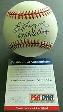 PSA/DNA AUTHENTICATED ED KRANEPOOL '69 WORLD CHAMPS OFFICIAL NATIONAL LEAGUE!!
