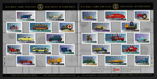 Canada — Pane of 25 Stamps — Historic Land Vehicles Collections — #1605 — MNH