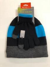 Tek Gear Warm Tek Boys' Beanie Hat and Glove Set in Blue Danube - One Size