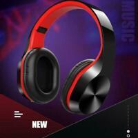 Wireless Headphones Bluetooth Headset Noise Cancelling Ear Earphones Stereo W0D6
