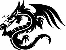 Stamm Dragon Auto Wohnmobil Lastwagen Fenster Aufkleber #16