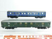 BB174-1 #2x Märklin H0 / AC Gepäckwagen / Voiture-Lit : 4044 Pw4ym DB + 4581