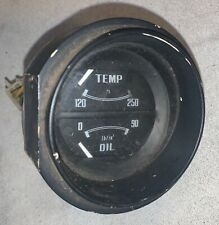 Oil & Temp Gauge out of a Datsun 280Z. —T2— G 1