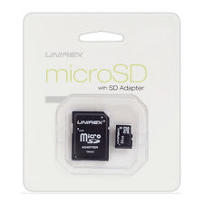 Unirex 8GB Micro SD Card with USB Reader and SD Adaptor | MSU-082