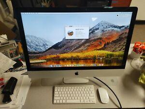 """Loaded 2013 Apple iMac 27"""" 3.2GHz i5-4570 4th Gen 8GB RAM 1TB HDD A1419 AIO PC"""