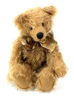 OOAK Hand Crafted ELAINE BILLIARD Plush BEAR Jointed MOHAIR