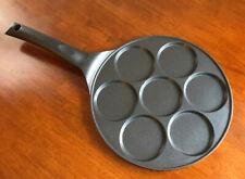 Gourmia 7-3� Molds Blini/Pancake Pan - Non-Stick 10 1/2�- W/ Induction - New