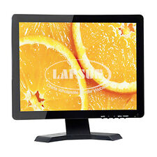 "15""  TFT LCD HDMI VGA AV RCA BNC Input Portable Color Monitor Screen for PC CCTV"
