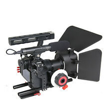 DSLR Rig Stabilizer Video Camera Rig Cage Kit Handle For GH4 A7S Camera Hot Sale