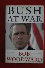 *1ST US ED.* BUSH AT WAR by Bob Woodward (Hardcover/DJ, 2002)