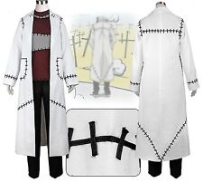 Soul Eater Cosplay Franken Stein Doctor Costume Cosplay *Custom Made*
