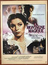 Affiche LA MONTAGNE MAGIQUE Zauberberg WERNER EICHHORN 40x60cm *d