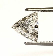 GIA certified Loose 1.01ct I1 F Trillion cut diamond 7.11x8.03x3.24mm antique