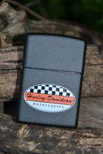 Zippo Lighter - Harley Davidson Racing - Checkered Flag - Model: 218HD H287