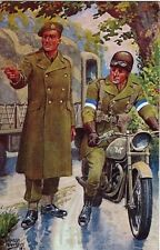 On Active Service Driver Uniforms signed.IBBETSON 1947 PC U Gale & Polden