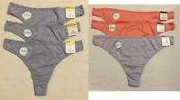 Charter Club Women's Supima Cotton Thong Panty 3-pc Set 100048521 M XXL