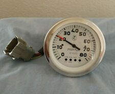 57333-0001 OMC System Check Gauge 14 Volts 4 Cylinder Gas Tachometer