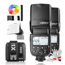 Godox VING V850II Li-ion Camera Flash +Transmitter X1T-S +Softbox kit