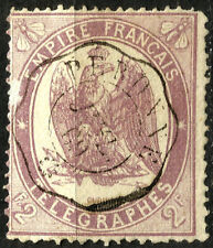 FRANCE, TELEGRAPH STAMP, YEAR 1868, FINE USED (SU058)