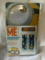 Despicable Me Room Darkening Drapery Panel New In Package