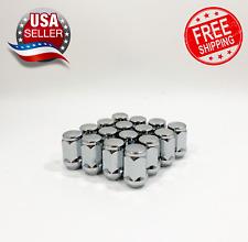 16pc  Chrome Bulge Acorn Lug Nut Set 1/2 Fits DODGE, FORD, GM🎗️