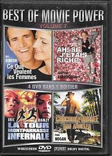 COFFRET 4 DVD / 4 FILMS--CE QUE VEULENT LES FEMMES - CROCODILE DUNDEE - LA TOUR