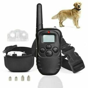 Rechargeable Electric Shock Anti-Bark E-Collar Pet Dog Training Remote Control