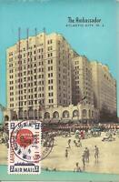 Atlantic City, NEW JERSEY - Ambassador Hotel / Tropicana Casino & Resort - 1959
