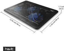 HAVIT HV-F2056  15.6 inch-17 inch Notebook Cooling Pad 3 Fans USB - Black
