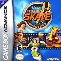 Disney's Extreme Skate Adventure - Nintendo Game Boy Advance GBA