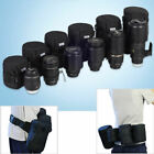 Thicker Waterproof Camera Lens Padded Bag Case Pouch Protector for Canon Nikon