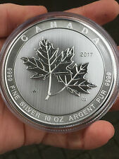 Kanada 10 oz Maple Leaf Magnificent - 50 CAD - 999 Silber Feinsilber 2017 AG