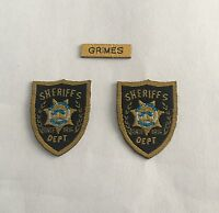 custom toys 1/6 Scale Police Sheriff Badge Sets the walking dead Rick Grimes