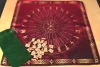 Small Runed Set Scandinavian Runes + Tablecloth