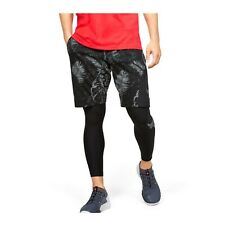 Under Armour Men's Gym Project Rock Terry Printed Quick dry Shorts 1351530-001