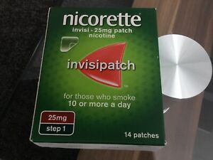 New Nicorette Invisipatch Step 1 25mg 14 Patches