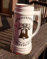 Bicentennial Stein Mug United State of America 1776-1976 by Viletta Made in USA