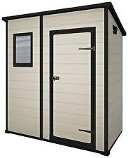 Keter Manor Pent Beige/Brown Garden Storage Shed  - 6 x 4ft