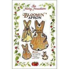 "THE PAISLEY PINCUSHION ""BLOOMIN' APRON"" Sewing Pattern"