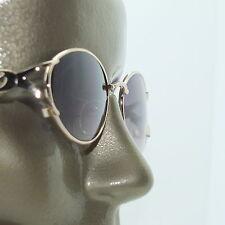 Reading Glasses Bifocal Tinted Sun Reader +1.00 Pretty Gold Metal Fancy Frame