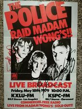More details for the police - signed - sting - stewart copeland - andy summers - autographs