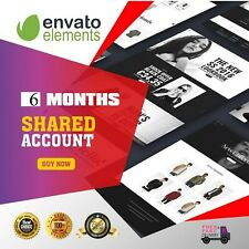 Envato Element - shared account - 6 months license
