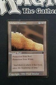 1x Carte Magic Mtg Artifact Creature 1994 Collector Rare Test print Misprint