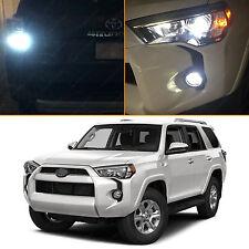 22x White LED Interior & Exterior Lights Package Kit 2015 2016 Toyota 4Runner
