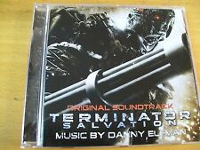 TERMINATOR SALVATION O.S.T. CD MINT- MUSIC BY DANNY ELFMAN ALICE IN CHAINS