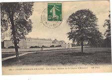 78 - cpa - ST GERMAIN EN LAYE - Les Loges - Maisons de la Légion d'Honneur