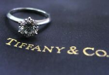 Tiffany & Co Platinum Round Diamond Solitaire Engagement Ring 2.03Ct I-VVS1